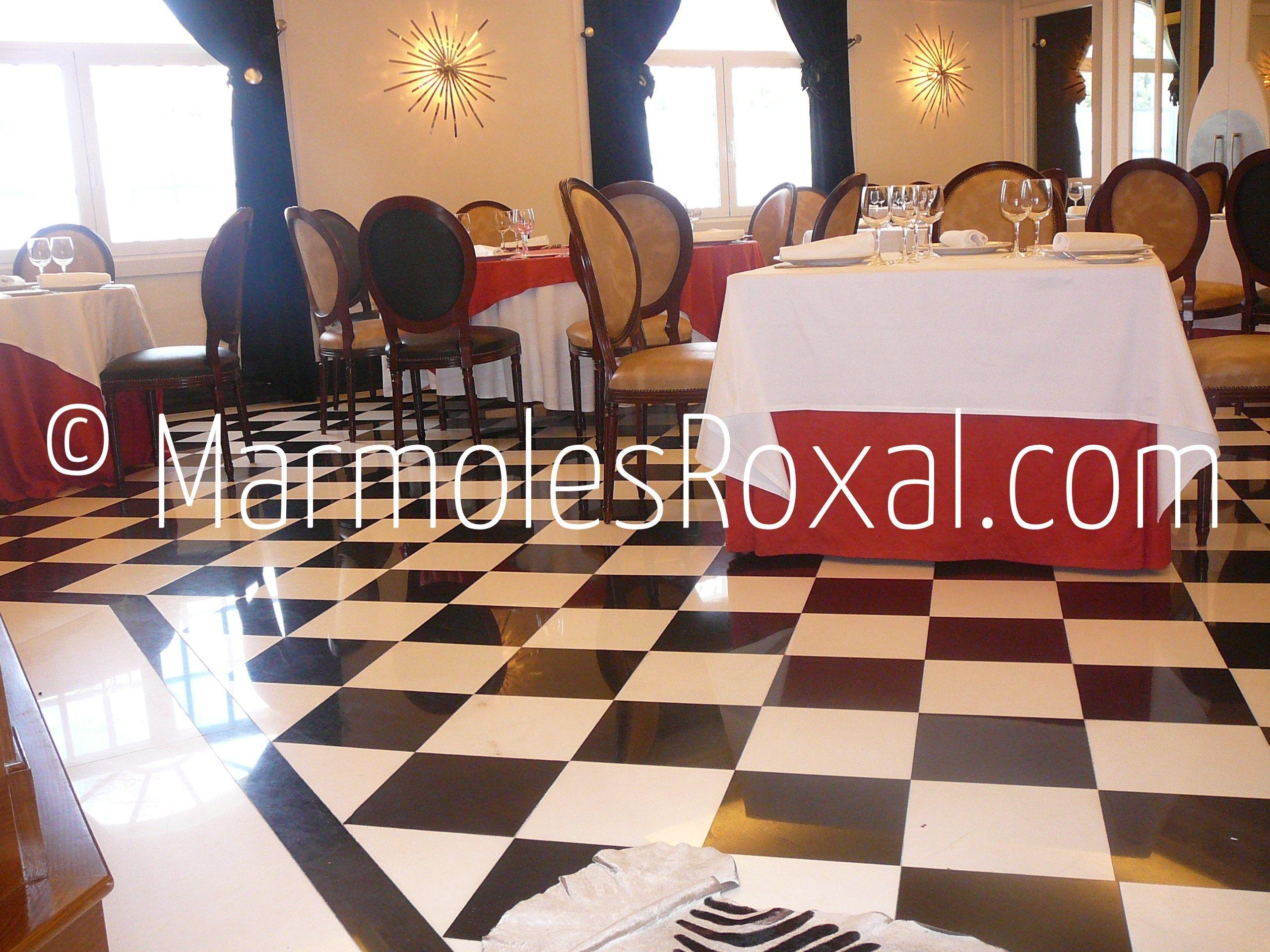 Proyectos de interior marmoles roxal s l - Baldosas para salones ...