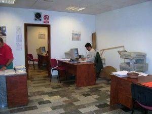 Una de nuestras oficinas administrativas